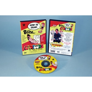 Bruce Blitz DVD: Draw Cartoons, 1 Hour
