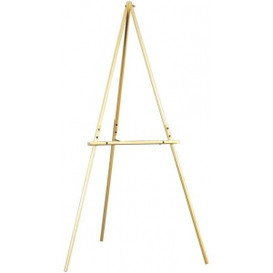 Heritage Arts™ Dias Beechwood Artist/Display Tripod Easel: Wood, Artist, Display, (model TP100), price per each