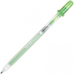 Gelly Roll® Emerald Metallic Gel Pen; Color: Green, Metallic; Ink Type: Gel; Tip Size: 1mm; (model 38920), price per each