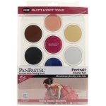 PanPastel® 7-Color Pastel Set Portrait Starter: Multi, Pan, Soft, (model PP30073), price per set