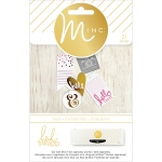 American Crafts - Heidi Swapp - Minc - Tags - Hello There - 21 Pack