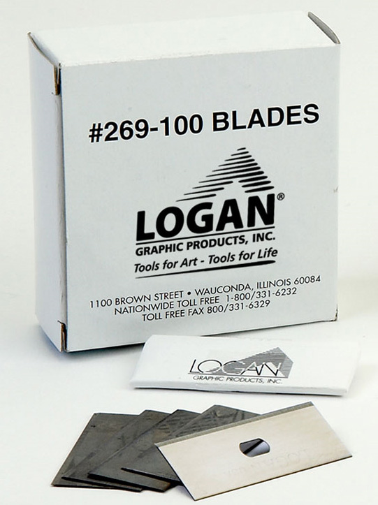 Logan 269-100 Blades: Fits 650, 655 and 660 Pack of 100