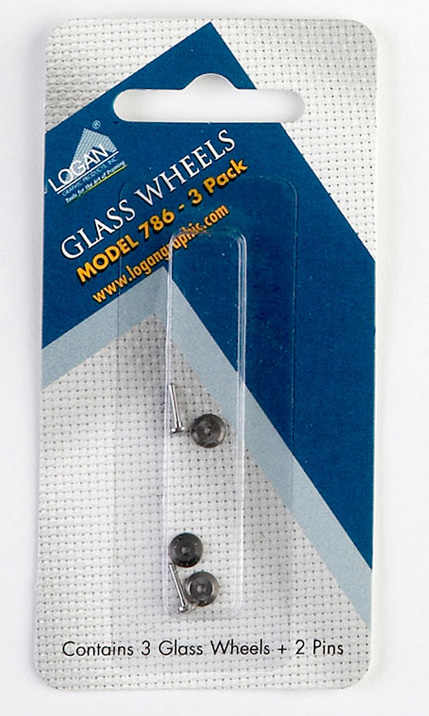Logan 786 Glass Cutter Wheels: Fits 704s