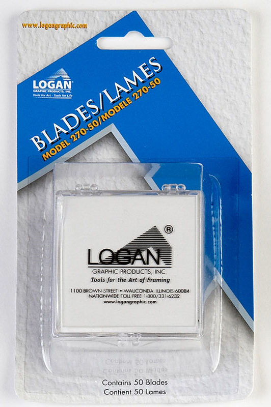 Logan 270-50 Blades: Fits 250, 301, 301-1, 350-1, 401, 424, 440, 450, 450-1, 500, 525, 550-1, 560-1, 650-1, 655-1, 660-1, 700-1, 700-S, 701, 750, 750-1, 760-1, 2000, 3000 & 4000, Pack of 50, 2 Packs