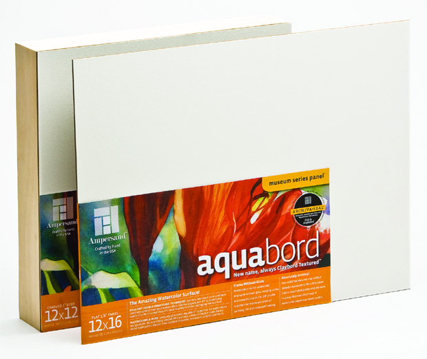 "Ampersand 1/8"" Thick Aquabord: 11"" x 14"", Case of 20"