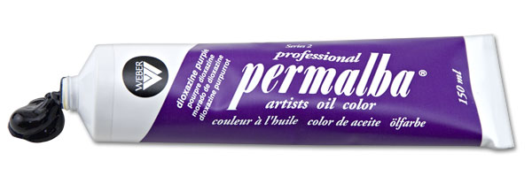 Professional Permalba Dioxazine Purple: 37ml Tube