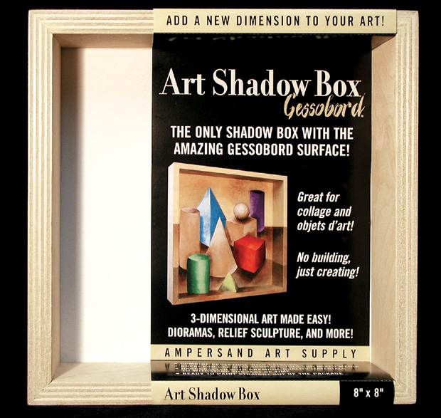"Ampersand Art Shadow Box: 12"" x 12\"", Case of 4"