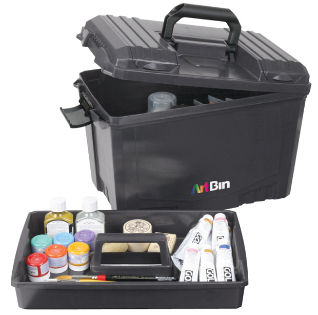 "Artbin Sidekick: XL, Black, 18"" x 9.75\"" x 12.5\"""