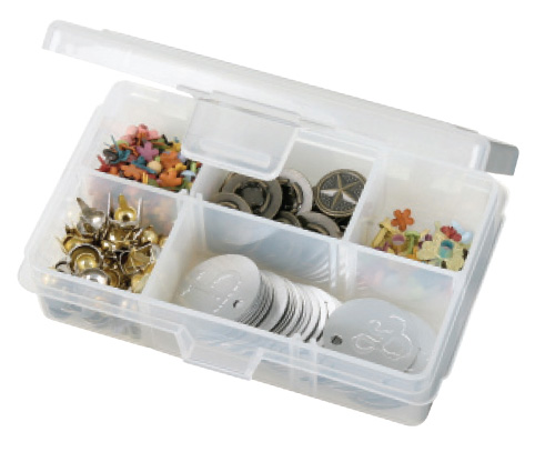 "Artbin Solutions Xs Box: Translucent, 4.625"" x 3.375\"" x 1.25\"""