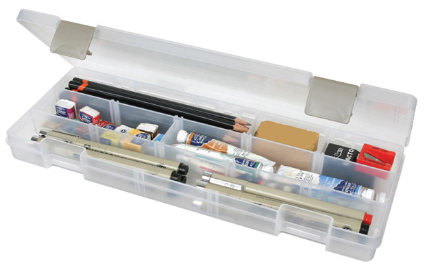 "Artbin Solutions Xl Box: Translucent, 12.38"" x 4.875\"" x 1.75\"""