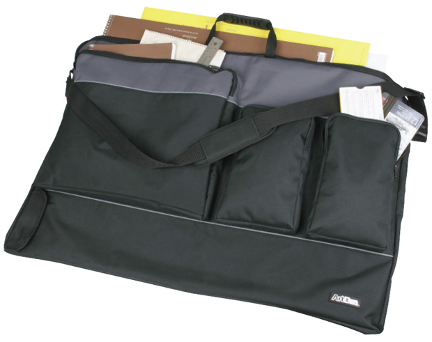 Artbin Tote Folio:  Black/Charcoal, XL