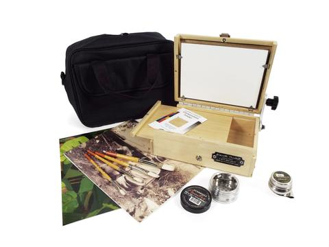 Guerilla Painter ThumBox™ Oil & Acrylic Plein Air Kit: 6 x 8