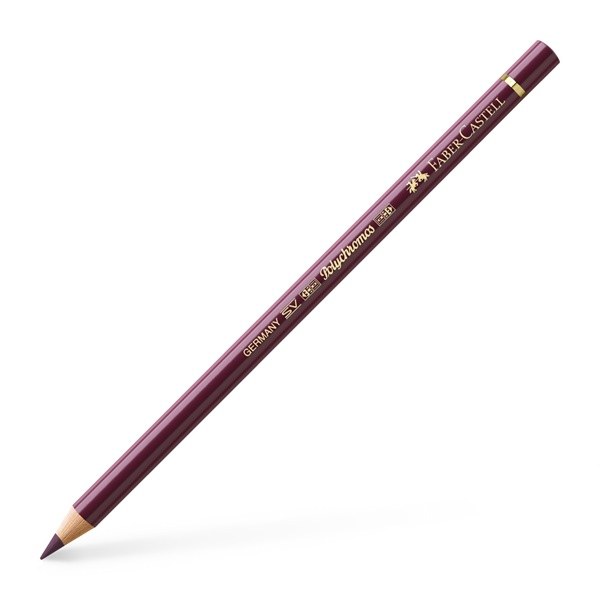 Faber-Castell Polychromos Artist Colour Pencil: Red-Violet