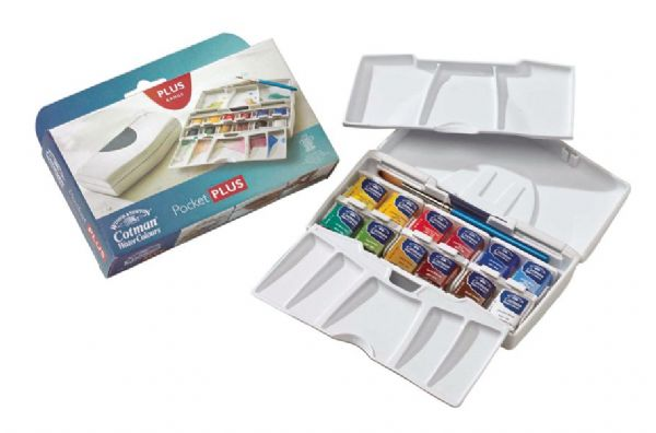 Winsor & Newton Cotman™ Watercolor Pocket Plus Set