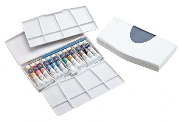 Winsor & Newton Cotman™ Watercolor Painting Plus 12-Color Tube Set