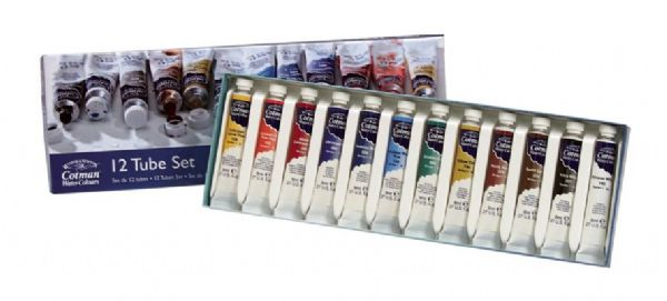 Winsor & Newton Cotman™ Watercolor 12-Color Set