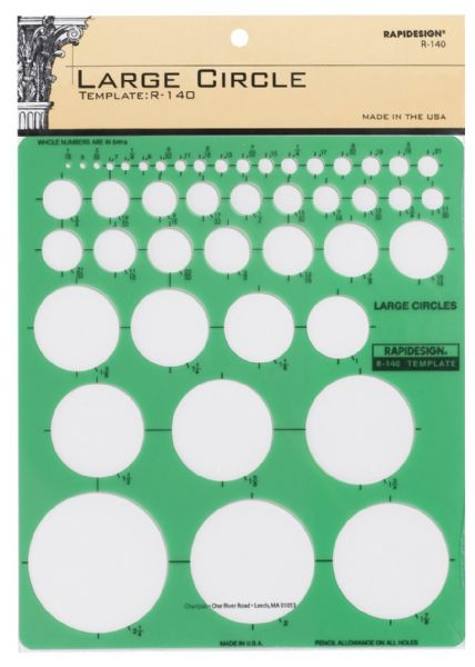 Rapidesign Large Circle Template