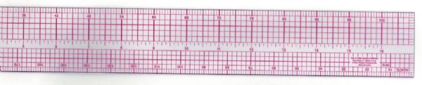 "Westcott C-Thru® 18"" Pica Beveled Ruler"