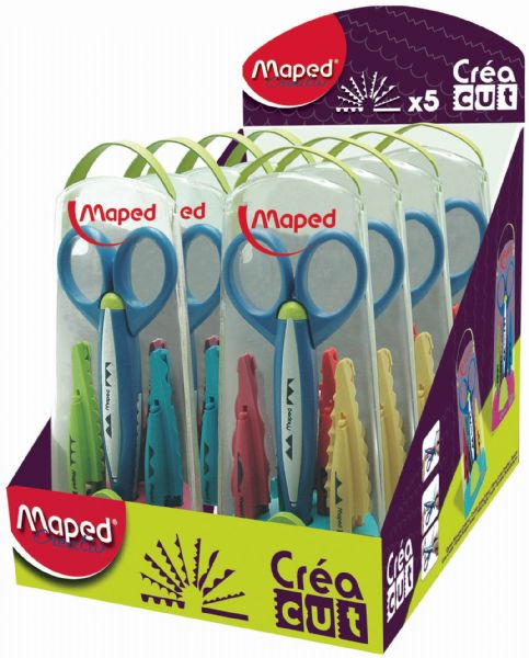 Maped Craft Scissor Set Display