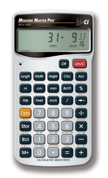 Calculated Industries Measure Master® Calculator