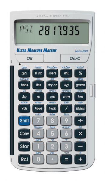 Calculated Industries Ultra Measure Master™ Calculator