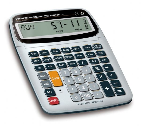 Calculated Industries Construction Master® Desktop Calculator