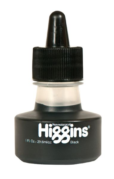 Higgins Inks Non-Waterproof Black Ink