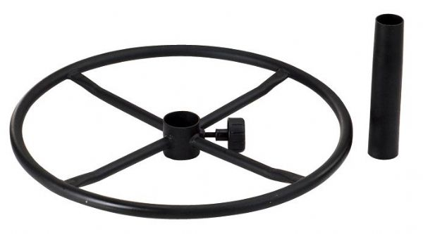 "Alvin 21"" Diameter Black Ring"