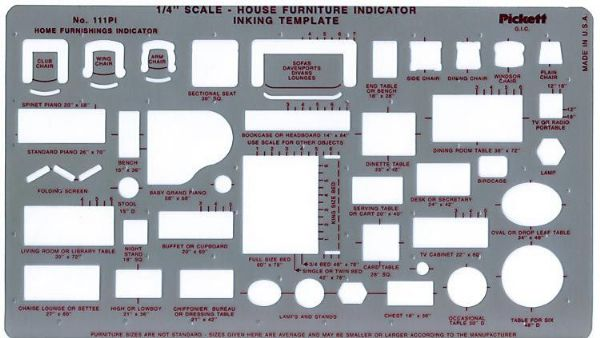 Pickett House Furniture Indicator Template