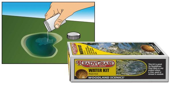Woodland Scenics ReadyGrass™ Water Kit