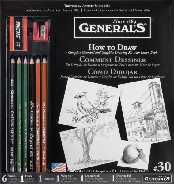 General's® Learn To Draw Now!™ How To Draw Kit