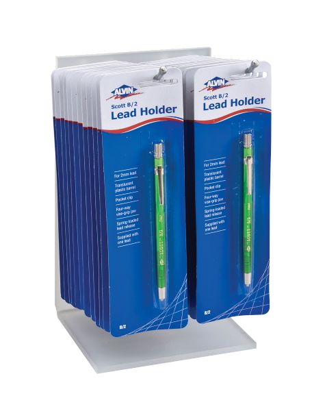 Alvin Scott B/2 Lead Holder Display