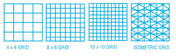 Clearprint 1000H Series 11 X 17 Vellum 10-Sheet Pack Isometric Grid