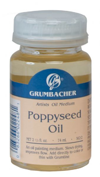 Grumbacher Poppy Seed Oil