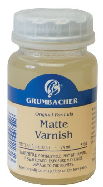 Grumbacher Matte Varnish