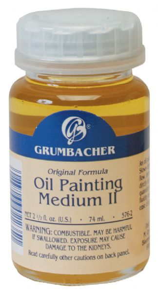 Grumbacher Slow Drying Oil Painting Medium II