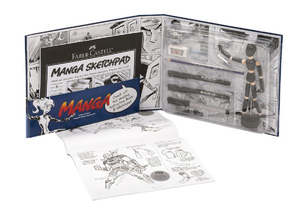 Faber-Castell Creative Studio Getting Started Complete Manga Drawing Kit