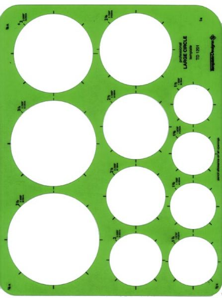 Alvin Large Circles Template