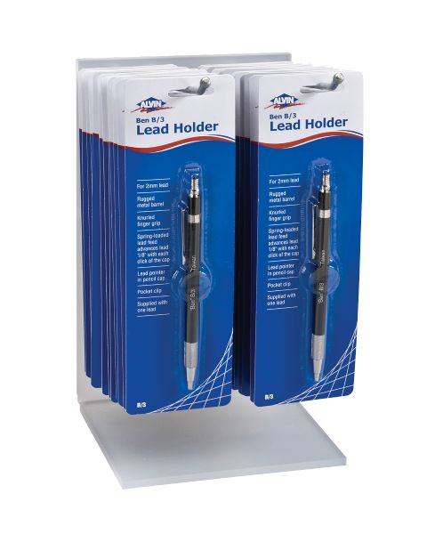 Alvin Ben B/3 Lead Holder Display
