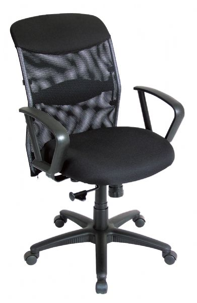 Alvin Salambro Mesh Fabric Manager's Office Height Chair