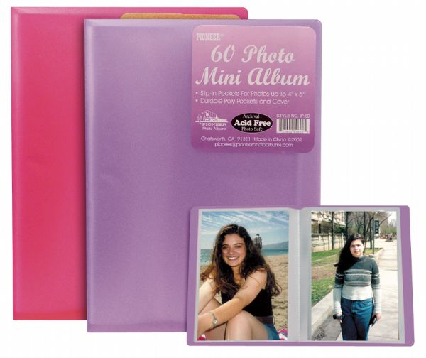 "Pioneer 4"" X 6"" Polypropylene Photo Album"