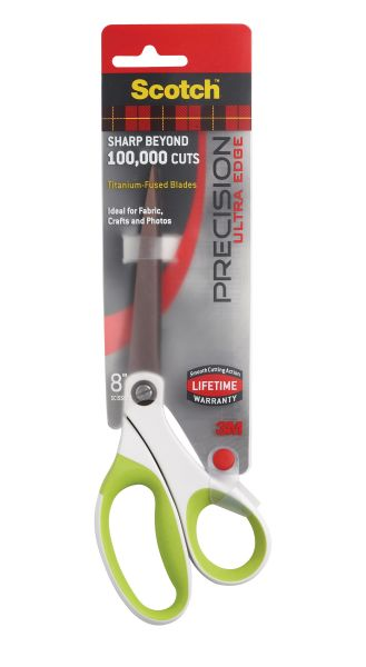 "Scotch 8"" Precision Ultra Edge Scissor"