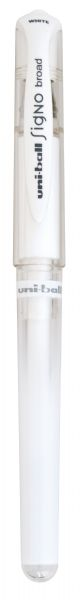 Uni-Ball White Gel Pen