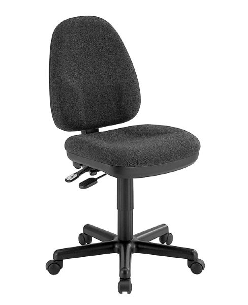 Alvin Black High Back Office Height Monarch Chair