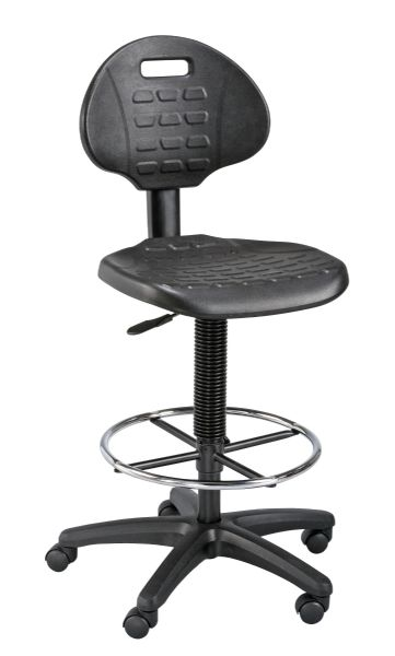 Alvin LabTek™ Black Utility Chair