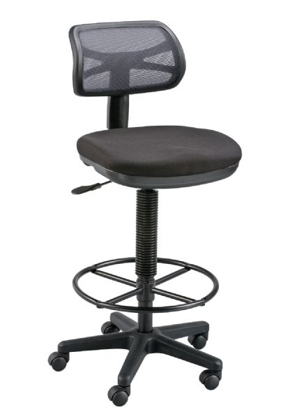 Alvin Griffin™ Black Drafting Height Chair