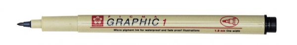 Pigma Sepia Graphic Drawing Pen