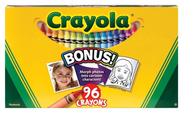 Crayola Original Crayons 96-Color