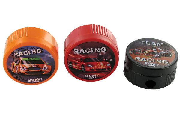 Kum® Racing Themed Pencil Sharpener Display Assortment