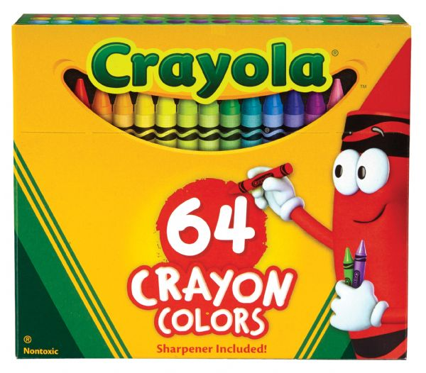 Crayola Original Crayons 64-Color